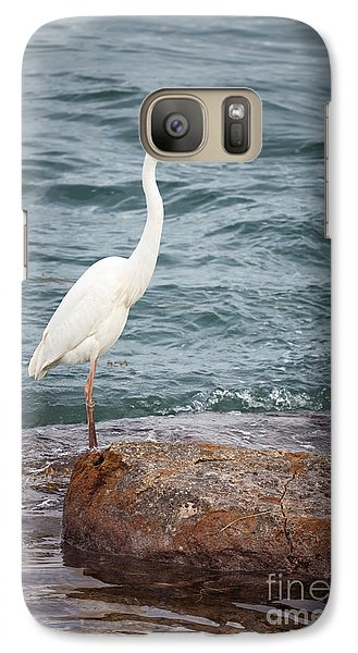 Great White Heron Galaxy S7 Case by Elena Elisseeva