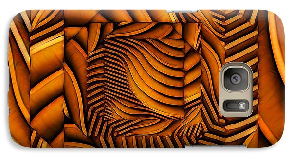 Galaxy Case featuring the digital art Groovy by Ron Bissett