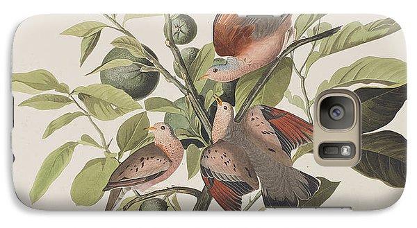 Ground Dove Galaxy Case by John James Audubon