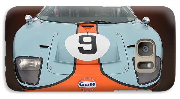 Galaxy Case featuring the photograph Gulf G T 40 by Bill Dutting