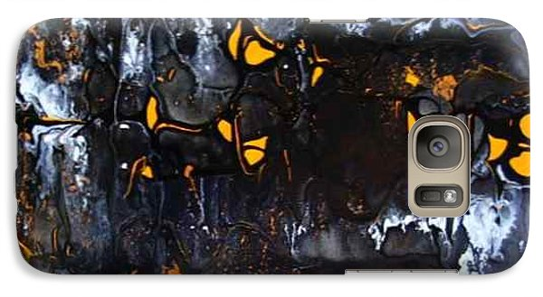 Galaxy Case featuring the painting Happy Dance by Pat Purdy