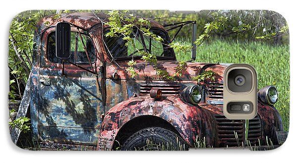 Galaxy Case featuring the photograph Has Caught Some Rust by Richard Bean