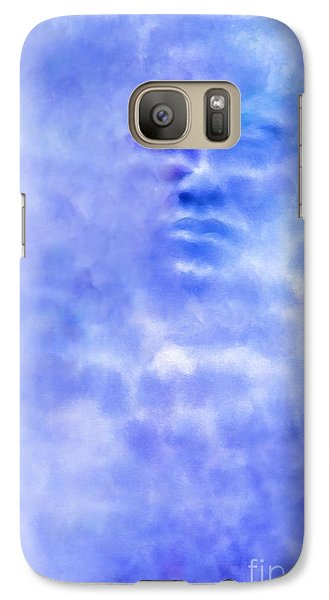 Galaxy Case featuring the digital art Head In The Clouds by Holly Ethan
