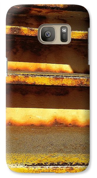 Galaxy Case featuring the photograph Heavy Metal by Olivier Calas