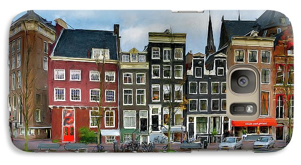 Herengracht 411. Amsterdam Galaxy S7 Case