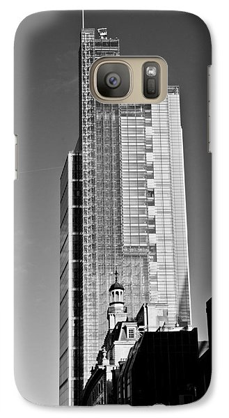 Heron Tower London Black And White Galaxy S7 Case