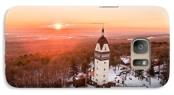 Galaxy Case featuring the photograph Heublein Tower In Simsbury, Connecticut by Petr Hejl