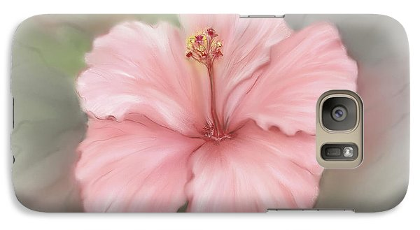 Galaxy Case featuring the painting Hibiscus  by Bonnie Willis
