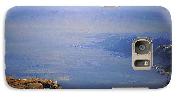 Galaxy Case featuring the painting High Above by Dan Whittemore
