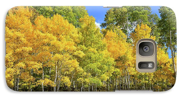 Galaxy Case featuring the photograph High Country Aspens by Ray Mathis