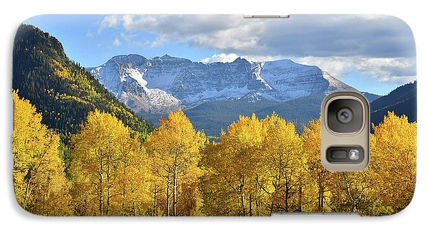 Galaxy Case featuring the photograph Highway 145 Colorado by Ray Mathis