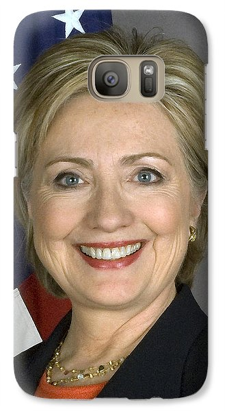 Hillary Clinton Galaxy S7 Case by War Is Hell Store