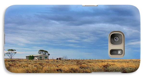 Galaxy Case featuring the photograph Homestead by Tim Nichols