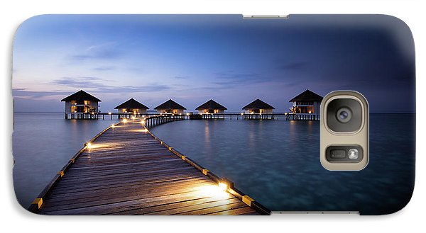 Galaxy Case featuring the photograph Honeymooners Paradise by Hannes Cmarits
