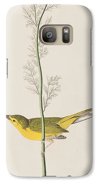 Hooded Warbler Galaxy S7 Case by John James Audubon