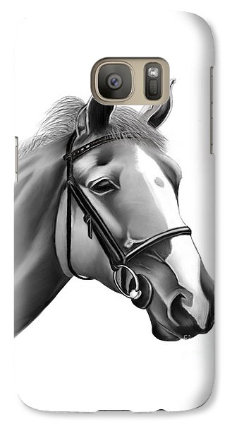 Galaxy Case featuring the painting Horse by Rand Herron