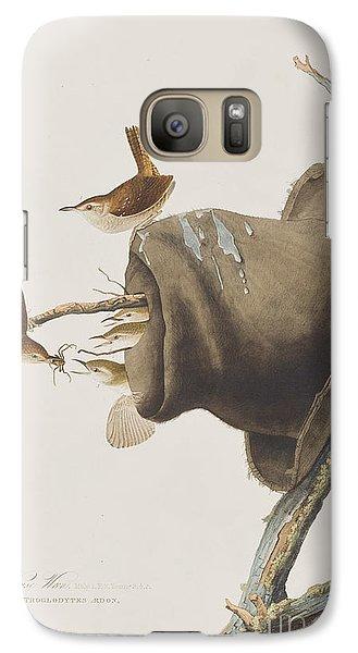 House Wren Galaxy S7 Case by John James Audubon