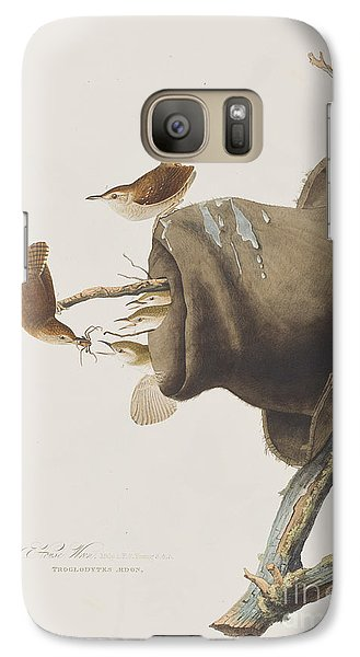House Wren Galaxy S7 Case by John James Audubon
