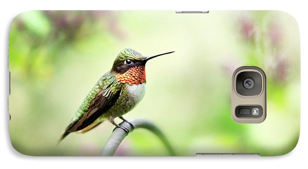 Galaxy Case featuring the photograph Hummingbird II by Christina Rollo