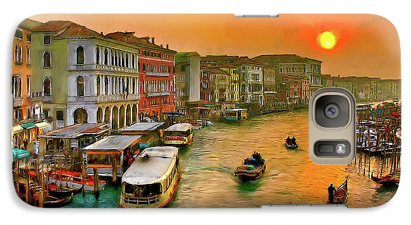 Imbarcando. Venezia Galaxy S7 Case