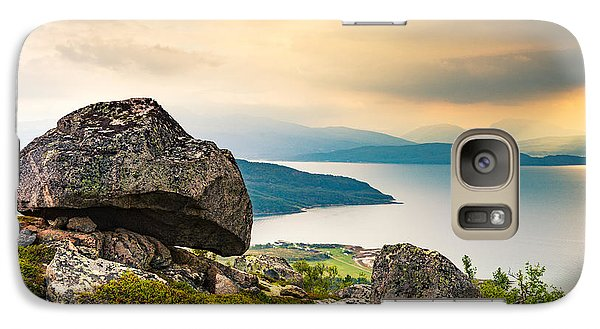 Galaxy Case featuring the photograph In The North by Maciej Markiewicz