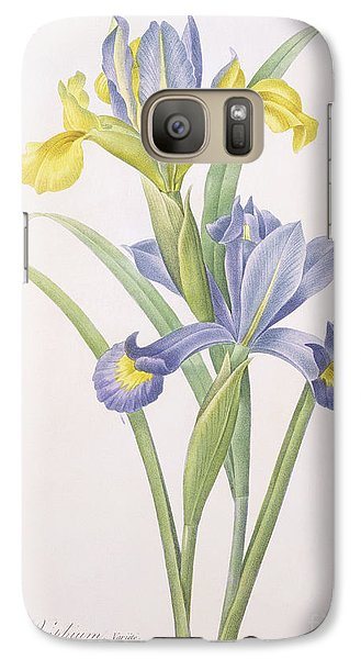 Iris Xiphium Galaxy S7 Case by Pierre Joseph Redoute