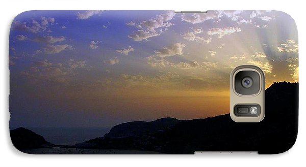 Galaxy Case featuring the photograph Ischia Awakens by Patrick Witz
