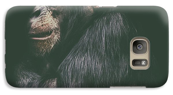 Orangutan Galaxy S7 Case - Its Cold Outside by Martin Newman