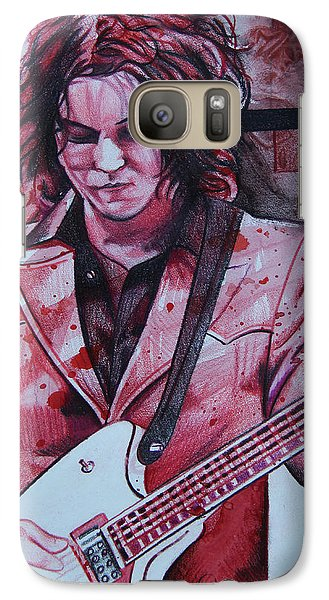Galaxy Case featuring the drawing Jack White by Joshua Morton