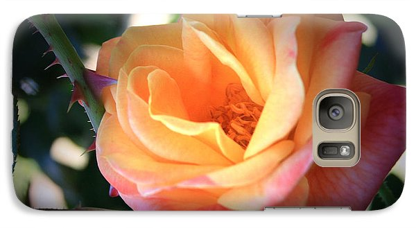 Galaxy Case featuring the photograph Jacob's Rose by Marna Edwards Flavell
