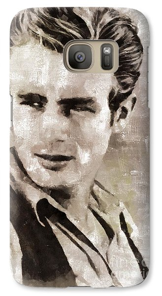 James Dean Hollywood Legend Galaxy S7 Case by Mary Bassett
