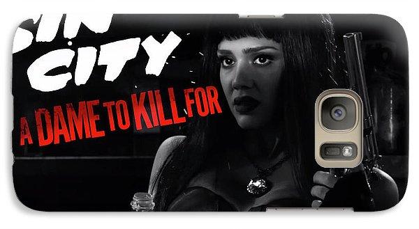Jessica Alba In Sin City 2 Galaxy S7 Case