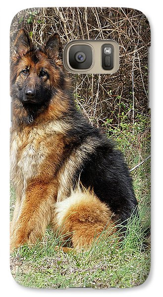 Galaxy Case featuring the photograph Jessy by Sandy Keeton