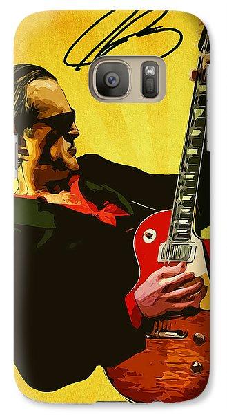 Eric Clapton Galaxy S7 Case - Joe Bonamassa by Semih Yurdabak