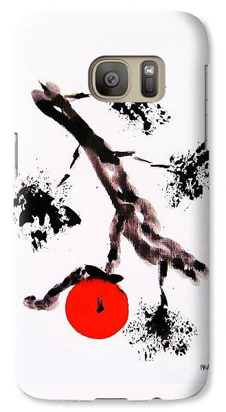 Galaxy Case featuring the painting Jukushita Kaki by Roberto Prusso
