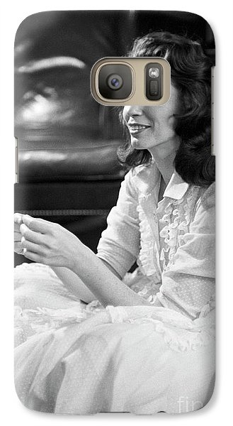 June Carter, 1956 Galaxy S7 Case by The Harrington Collection
