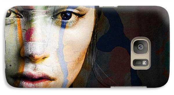 Galaxy Case featuring the mixed media Just Like A Woman by Paul Lovering