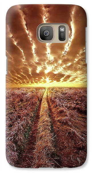 Galaxy Case featuring the photograph Just Over The Horizon by Phil Koch