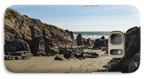 Galaxy Case featuring the photograph Kennack Sands by Brian Roscorla