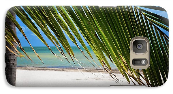 Galaxy Case featuring the photograph Key West Palm by Kelly Wade