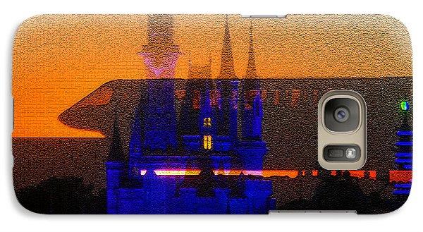 Galaxy Case featuring the digital art Kingdom by David Lee Thompson