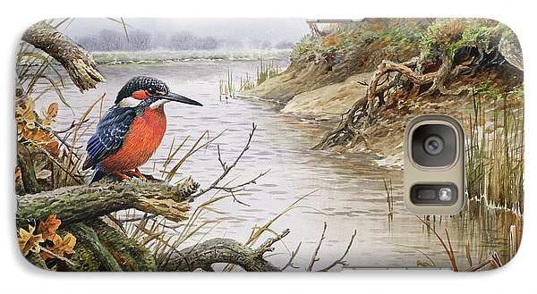 Kingfisher Galaxy S7 Case - Kingfisher by Carl Donner