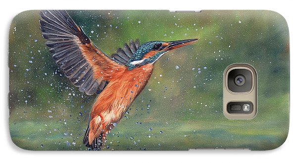 Kingfisher Galaxy S7 Case - Kingfisher by David Stribbling