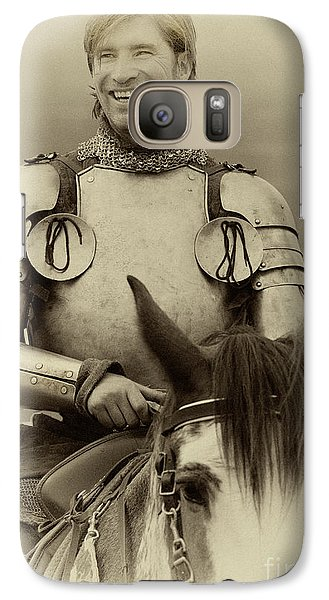 Galaxy Case featuring the photograph Knights Of Old 12 by Bob Christopher