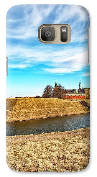 Galaxy Case featuring the photograph Kronborg Castle In Helsingor by Antony McAulay