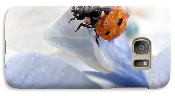 Ladybug Galaxy S7 Case by Nailia Schwarz