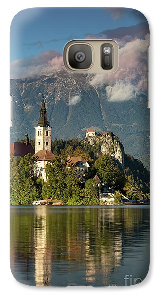 Galaxy Case featuring the photograph Lake Bled by Brian Jannsen