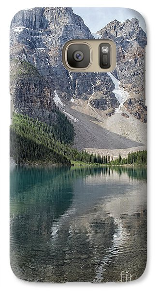 Galaxy Case featuring the photograph Lake Maligne by Patricia Hofmeester