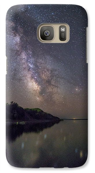 Galaxy Case featuring the photograph Lake Oahe  by Aaron J Groen
