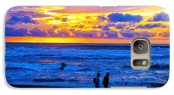 Galaxy Case featuring the photograph Last Light by Rick Bragan